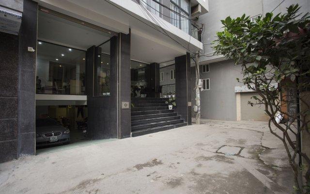 Отель Suji Home Ханой вид на фасад