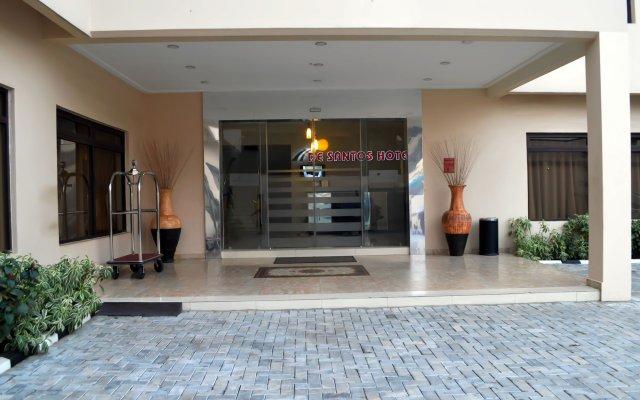 De Santos Hotel вид на фасад