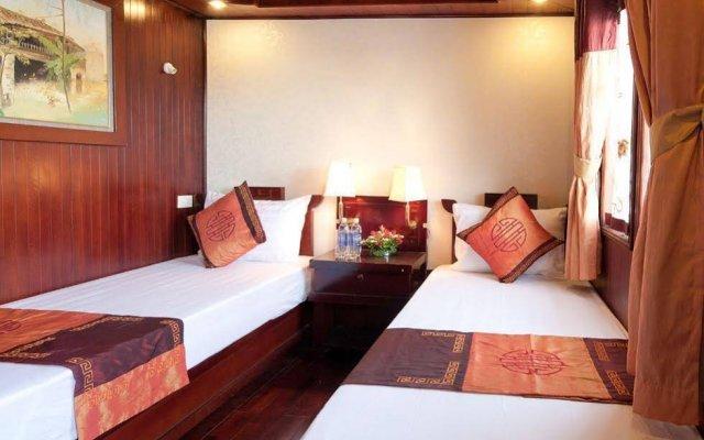 Отель Aclass Cruise Halong Вьетнам, Халонг - отзывы, цены и фото номеров - забронировать отель Aclass Cruise Halong онлайн комната для гостей