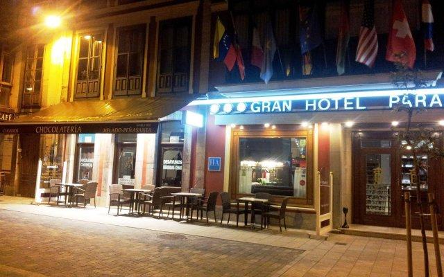 Gran Hotel Paraiso вид на фасад