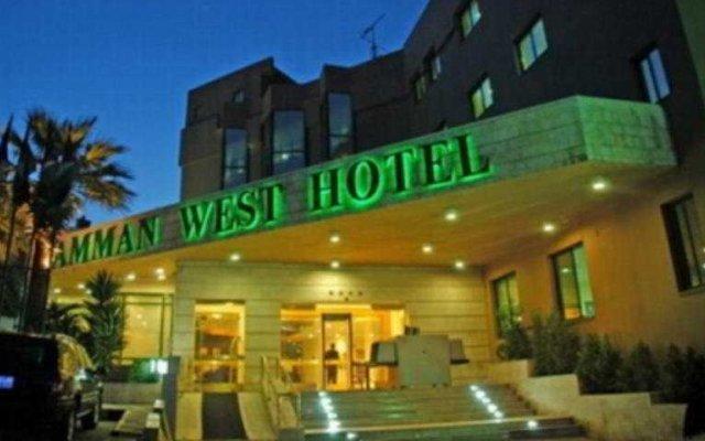 Amman West Hotel вид на фасад