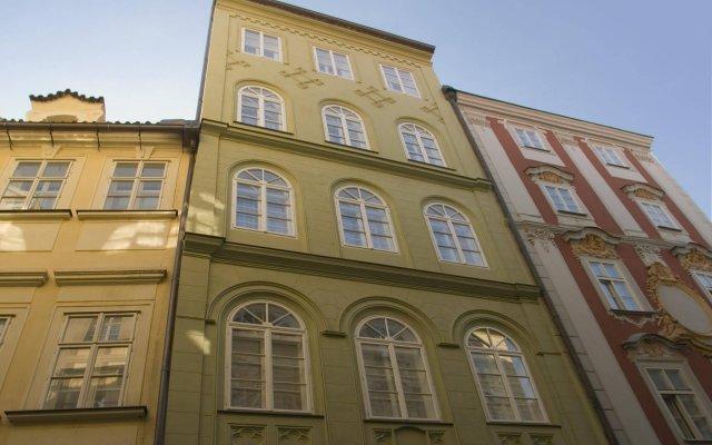Отель Residence Karlova Прага вид на фасад