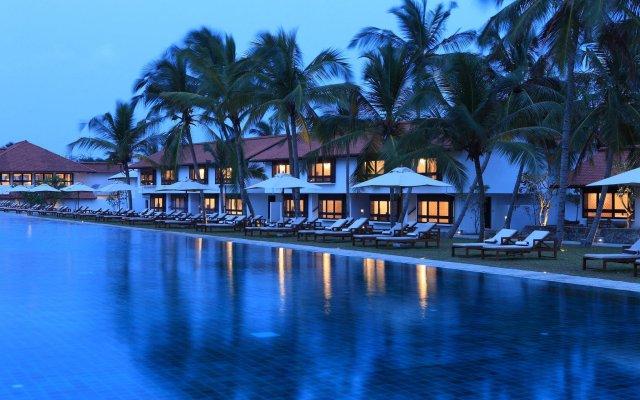Отель Jetwing Lagoon вид на фасад