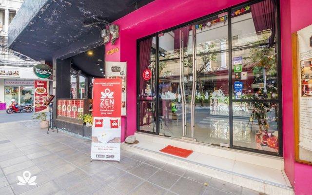 Отель Glitz Бангкок вид на фасад