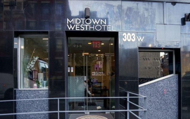 Отель Midtown West Hotel США, Нью-Йорк - отзывы, цены и фото номеров - забронировать отель Midtown West Hotel онлайн вид на фасад