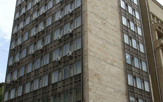 Гостиница Уланская вид на фасад