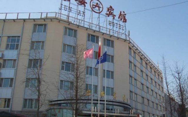 Отель Jun An вид на фасад