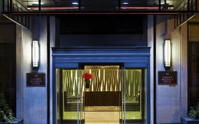 Отель Loews Regency New York Hotel США, Нью-Йорк - отзывы, цены и фото номеров - забронировать отель Loews Regency New York Hotel онлайн вид на фасад