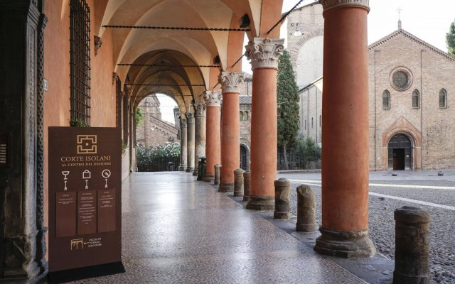 Отель Casa Isolani Santo Stefano Италия, Болонья - отзывы, цены и фото номеров - забронировать отель Casa Isolani Santo Stefano онлайн вид на фасад