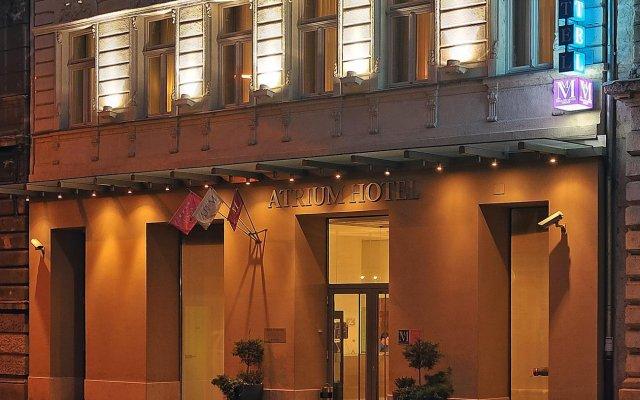 Отель Atrium Fashion Будапешт вид на фасад