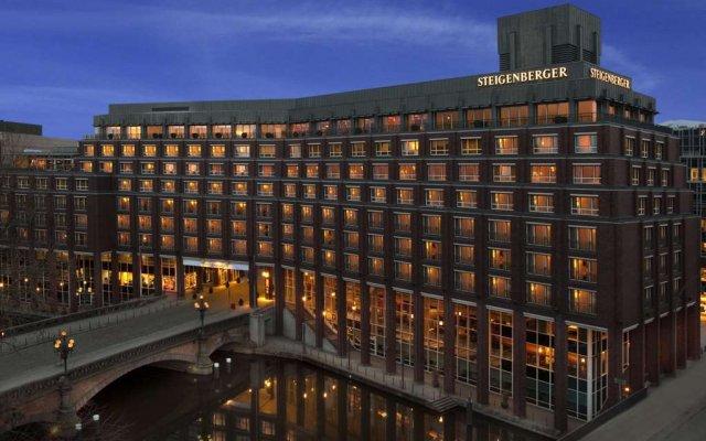 Отель Steigenberger Hotel Hamburg Германия, Гамбург - 2 отзыва об отеле, цены и фото номеров - забронировать отель Steigenberger Hotel Hamburg онлайн вид на фасад