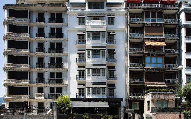 Отель NIZA Сан-Себастьян вид на фасад