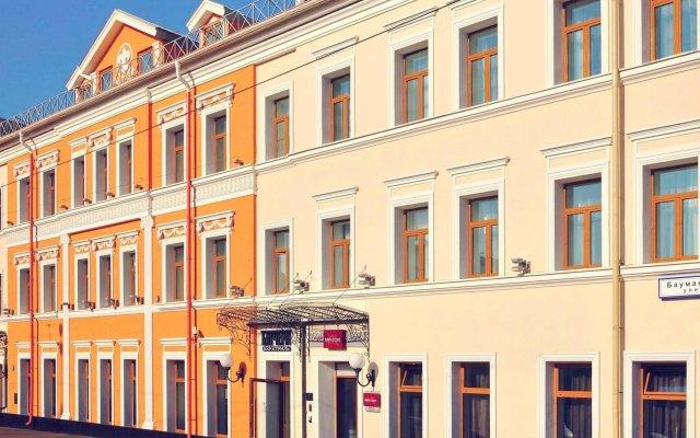 Гостиница Mercure Москва Бауманская вид на фасад