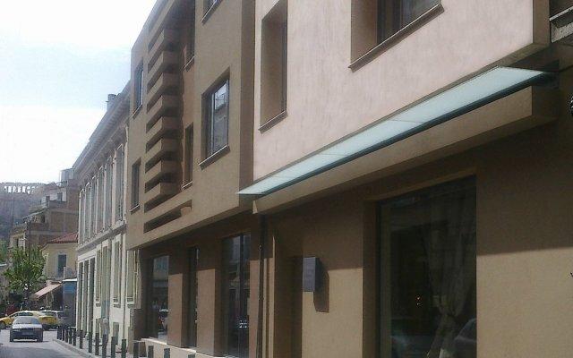 O&B Athens Boutique Hotel вид на фасад