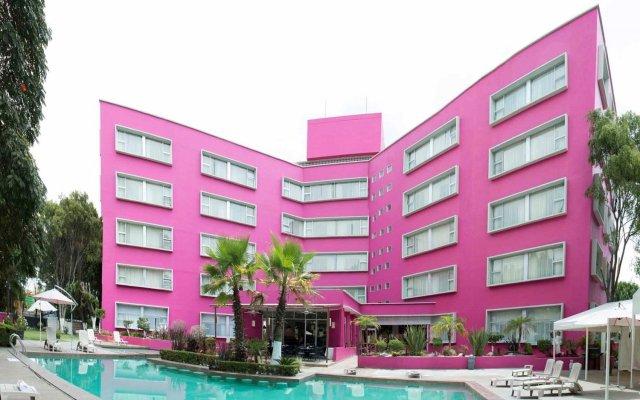 Отель Best Western Plus Puebla вид на фасад