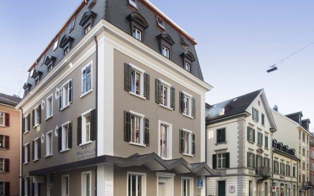 Отель Walhalla Guest House Швейцария, Цюрих - отзывы, цены и фото номеров - забронировать отель Walhalla Guest House онлайн вид на фасад