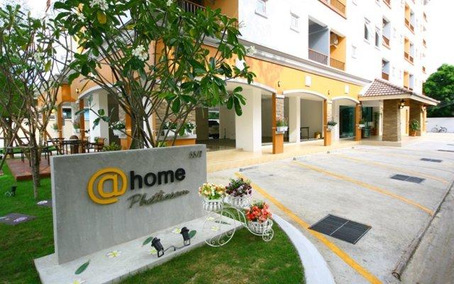 Отель At Home Phetkasem Таиланд, Бангкок - отзывы, цены и фото номеров - забронировать отель At Home Phetkasem онлайн вид на фасад