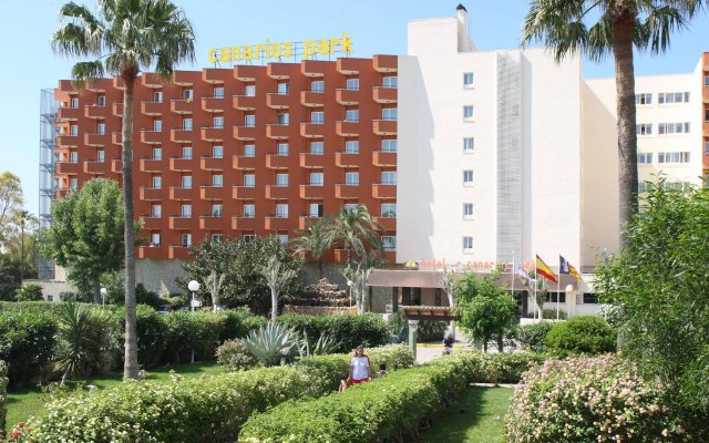 Отель HSM Canarios Park вид на фасад
