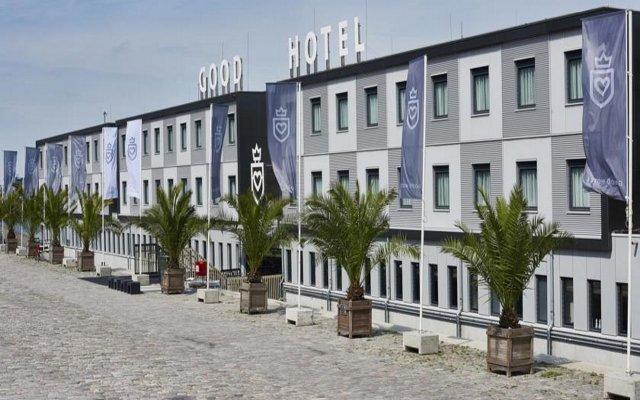 Good Hotel Amsterdam вид на фасад