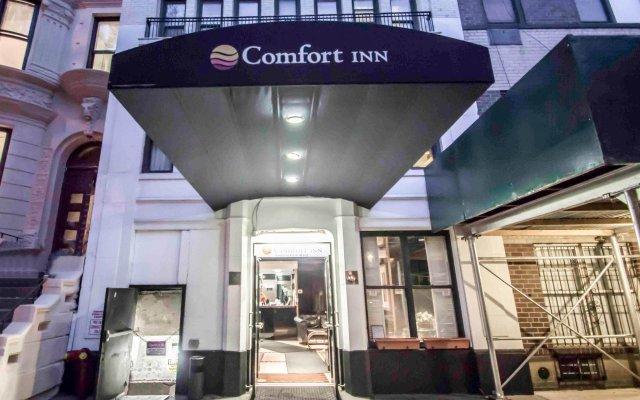 Отель La Quinta Inn & Suites New York City Central Park вид на фасад