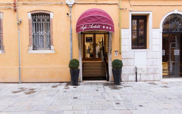 Hotel Agli Artisti Венеция вид на фасад