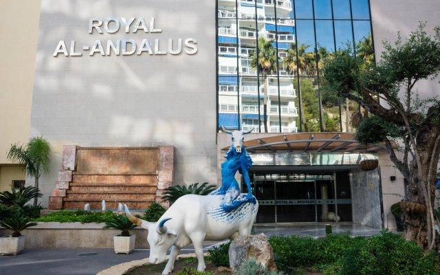 Отель Royal Al-Andalus вид на фасад