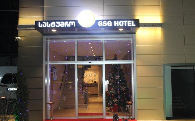 GSG Hotel вид на фасад