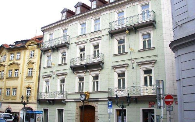 Отель Barceló Old Town Praha Чехия, Прага - 6 отзывов об отеле, цены и фото номеров - забронировать отель Barceló Old Town Praha онлайн вид на фасад