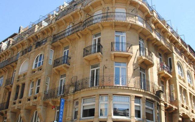 Отель Hostal Alemana Испания, Сан-Себастьян - отзывы, цены и фото номеров - забронировать отель Hostal Alemana онлайн вид на фасад