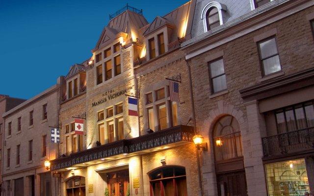 Отель Manoir Victoria Канада, Квебек - отзывы, цены и фото номеров - забронировать отель Manoir Victoria онлайн вид на фасад