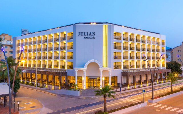 Julian Marmaris Турция, Мармарис - отзывы, цены и фото номеров - забронировать отель Julian Marmaris онлайн вид на фасад
