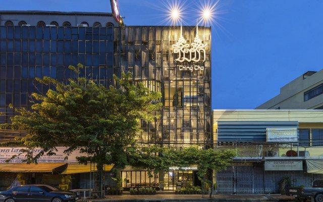 Отель Chingcha Bangkok Бангкок вид на фасад