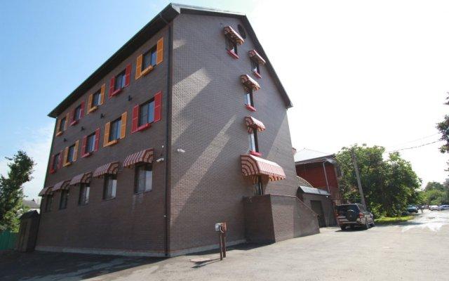 Гостиница Villa Diana в Краснодаре 6 отзывов об отеле, цены и фото номеров - забронировать гостиницу Villa Diana онлайн Краснодар вид на фасад