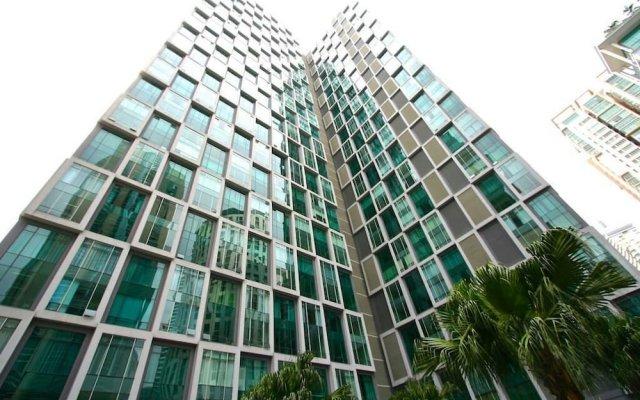 Отель Soho Suites KLCC LX Stay Малайзия, Куала-Лумпур - отзывы, цены и фото номеров - забронировать отель Soho Suites KLCC LX Stay онлайн вид на фасад