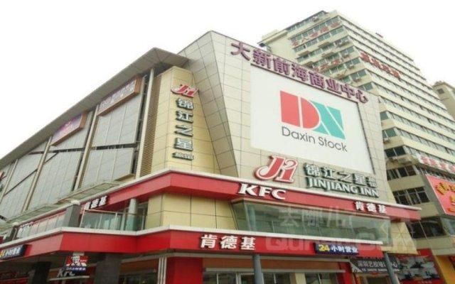 Отель Jinjiang Inn Nanshan Qianhai Road Шэньчжэнь вид на фасад