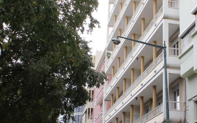 Отель Residencial Duque de Saldanha вид на фасад