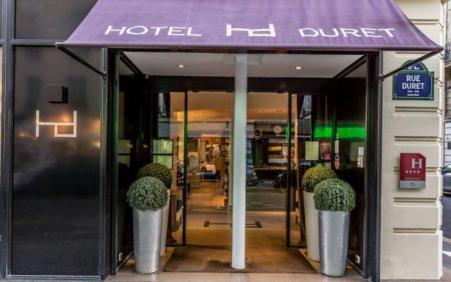 Hotel Duret вид на фасад