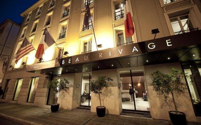 Hotel Beau Rivage Ницца вид на фасад