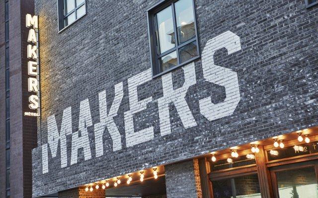 Отель Makers Hotel Южная Корея, Сеул - отзывы, цены и фото номеров - забронировать отель Makers Hotel онлайн вид на фасад