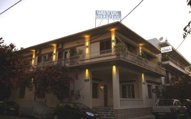 Отель Sonia Греция, Кос - отзывы, цены и фото номеров - забронировать отель Sonia онлайн вид на фасад