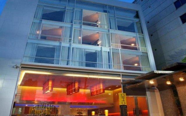 Отель CITICHIC Sukhumvit 13 Bangkok by Compass Hospitality вид на фасад