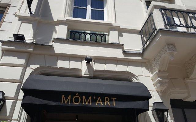 Mom'Art Hotel & Spa вид на фасад