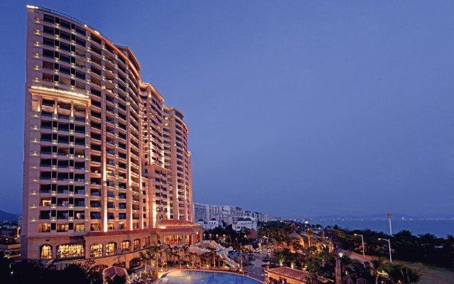 Отель Sheraton Sanya Bay Resort вид на фасад
