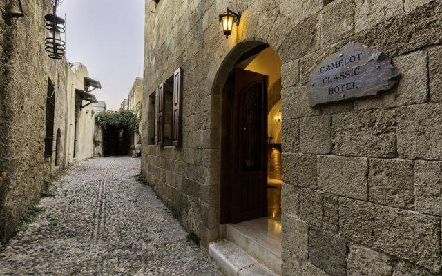 Отель Camelot Hotel Греция, Родос - отзывы, цены и фото номеров - забронировать отель Camelot Hotel онлайн вид на фасад