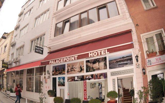 Palace Point Apart Hotel вид на фасад