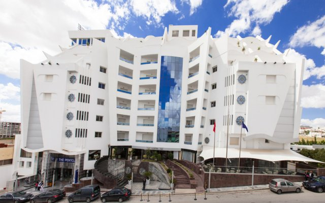 The Penthouse Suites Hotel in Gammarth Beach, Tunisia from 102$, photos, reviews - zenhotels.com hotel front