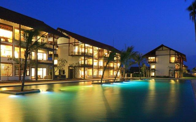 Отель Avani Bentota Resort Шри-Ланка, Бентота - 2 отзыва об отеле, цены и фото номеров - забронировать отель Avani Bentota Resort онлайн вид на фасад