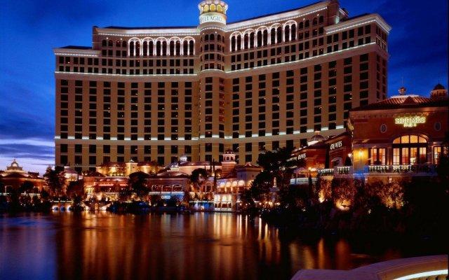 Отель Bellagio США, Лас-Вегас - - забронировать отель Bellagio, цены и фото номеров вид на фасад