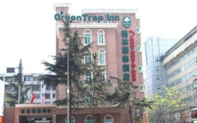 GreenTree Inn Chengdu Kuanzhai Alley RenMin Park Hotel вид на фасад