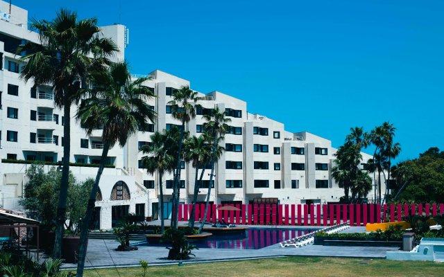 Отель Luigans Spa And Resort Фукуока вид на фасад